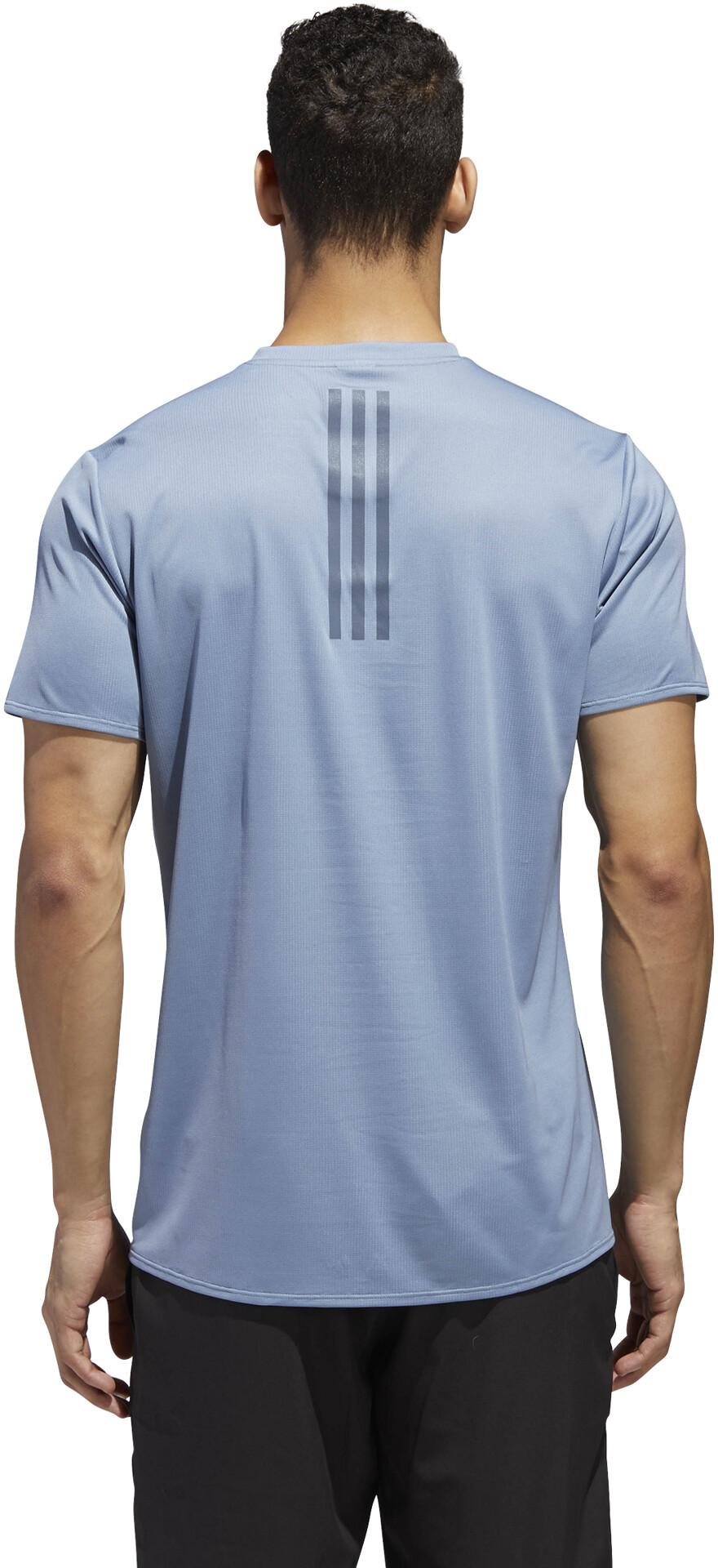 86b92ec4990 adidas Supernova Løbe T-shirt Herrer, raw grey